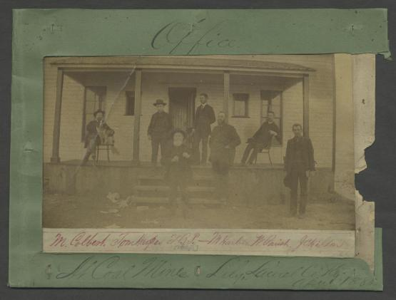 "&quot;Office at Coal Mines Lily Laurel Co. Ky.&quot; Part of Cooper-Phillips family papers, Bulk, 1857-1866, University of Kentucky Special Collections.  <a href=""http://kdl.kyvl.org/catalog/xt7mw6693p5m_17_2"">http://kdl.kyvl.org/catalog/xt7mw6693p5m_17_2</a>"