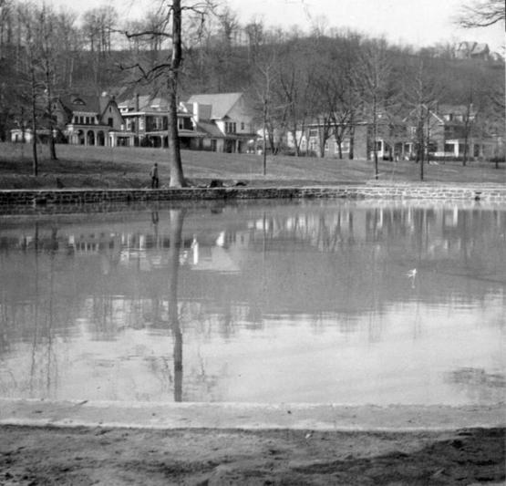 """&quot;Project #1455 District 5: Improvements for City Parks in Ashland, KY. The view shows the Central Park Pool, constructed with native sandstone and finished with cement cap. Photographed March 25, 1936,&quot;  1936.  Part of Goodman-Paxton Photographic Collection, 1934-1942, University of Kentucky Special Collections.  Accession number pa64m1.  <a href=""""http://kdl.kyvl.org/catalog/xt7nvx05xv47_406_1"""">http://kdl.kyvl.org/catalog/xt7nvx05xv47_406_1</a>"""