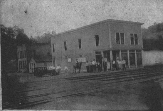 Cannel City Fair, building is the Kentucky Block Cannel Coal Co. Commissary.  Submitted by Andrew Jones on 4/2/14 and donated by Larry Benton, whose great-grandfather worked at the company store.
