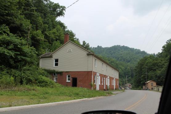 Wheelwright, Kentucky.  Photo taken by Arlis Johnson 6/28/2014