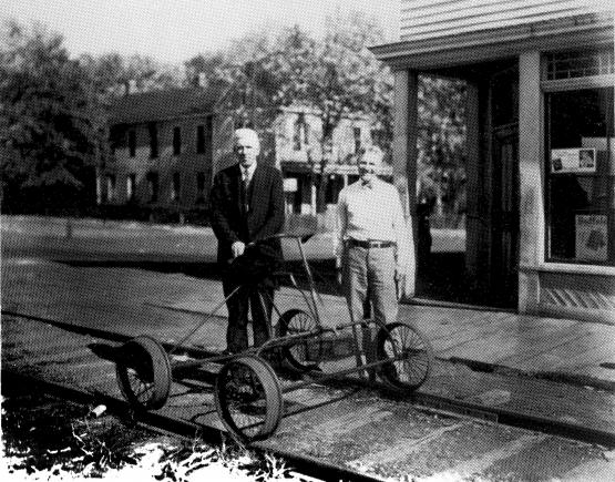 """Dr. J.D. Whiteaker, company physician for Kentucky Block Cannel Coal Co., and Hugh Minor, comptroller for Kentucky Block Cannel Coal Co.  Submitted by Andrew Jones on 4/2/14.  1.) Breckenridge, Helen Congleton (1993) Memories of Cannel City, Kentucky : biographical sketches of Effie Kilgore and William Thomas Congleton, 1880-1976. Lexington, KY. This book can be found at the University of Kentucky Special Collections Library, Lexington KY:<a href=""""http://infokat.uky.edu/vwebv/holdingsInfo?bibId=1418854"""">http://infokat.uky.edu/vwebv/holdingsInfo?bibId=1418854</a>"""