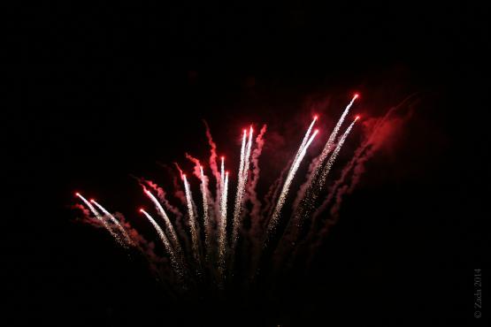 """Fireworks display for Wayland&#039;s 2014 reunion.  Photo by Zada Komara 8/31/2014 <a href=""""mailto:zko222@g.uky.edu"""">zko222@g.uky.edu</a>"""