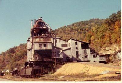 """Wayland tipple in the 1970s before it was torn down.  Photo submitted by Adam Manns on 9/8/2014.  <a href=""""mailto:dmmnns@gmail.com"""">dmmnns@gmail.com</a>"""